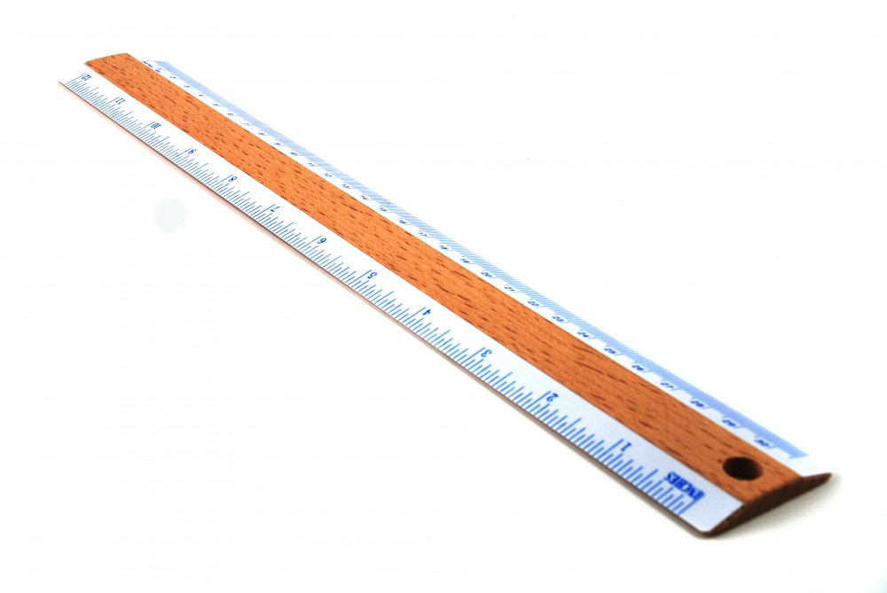 Stock pictures of a ruler