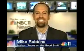 Mike Robbins on NBC 11 News
